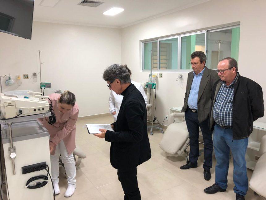 """Unidade Oncológica """"Marina Ramos"""" recebe visita do Dr. Jairo Othero – Diretor médico do IPE"""