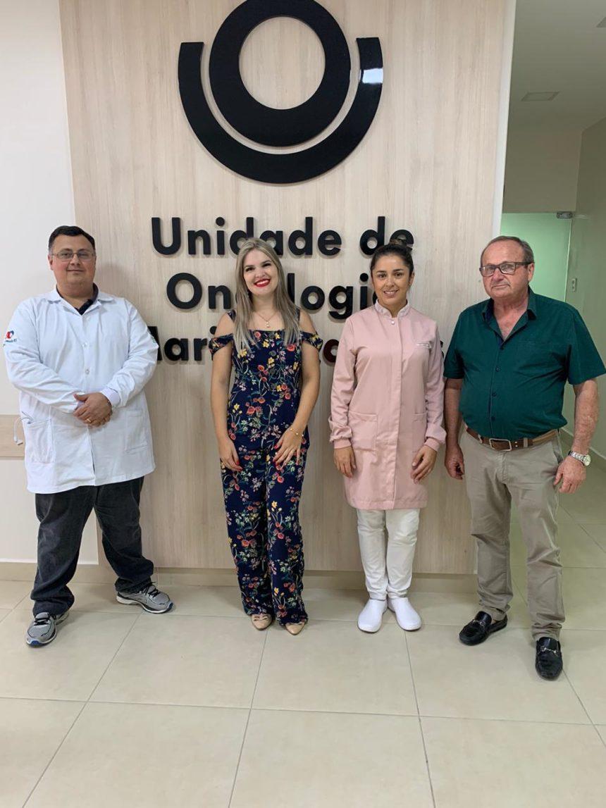 Campanha de divulgação da Unidade de Oncologia Marina Ramos