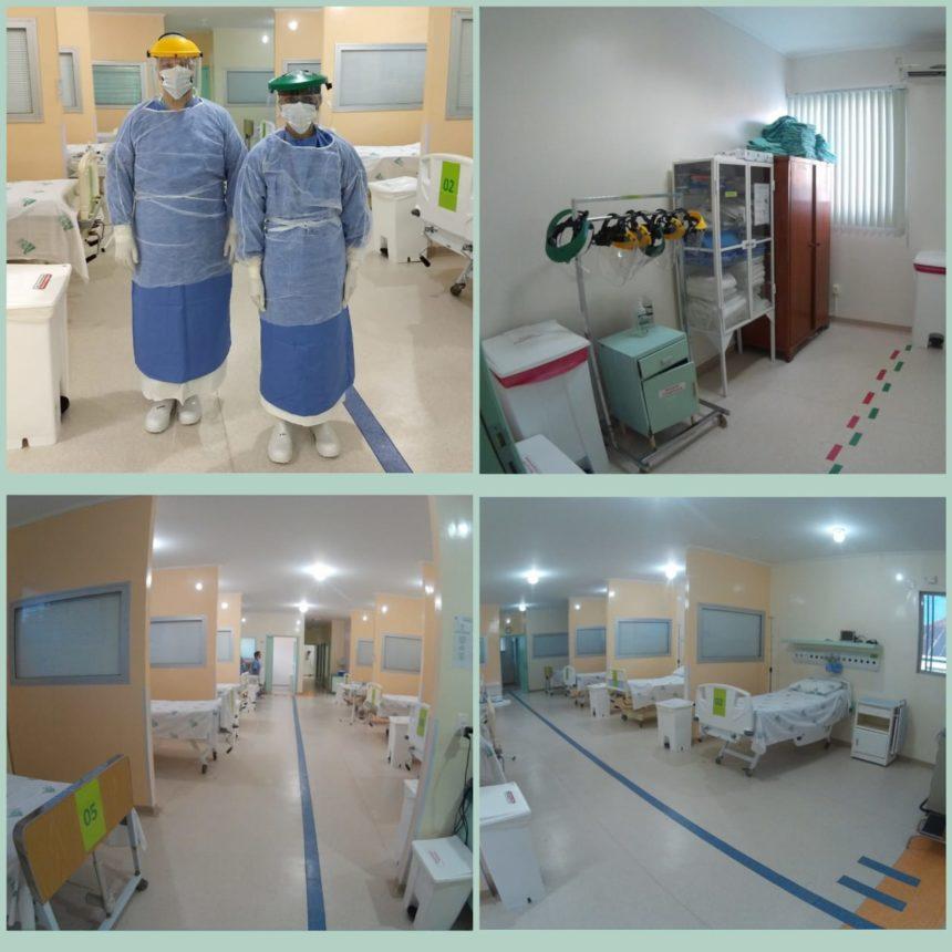 Santa Casa já dispõe de Unidade de Cuidados de Isolamento para pacientes com Síndrome Respiratória Aguda Grave