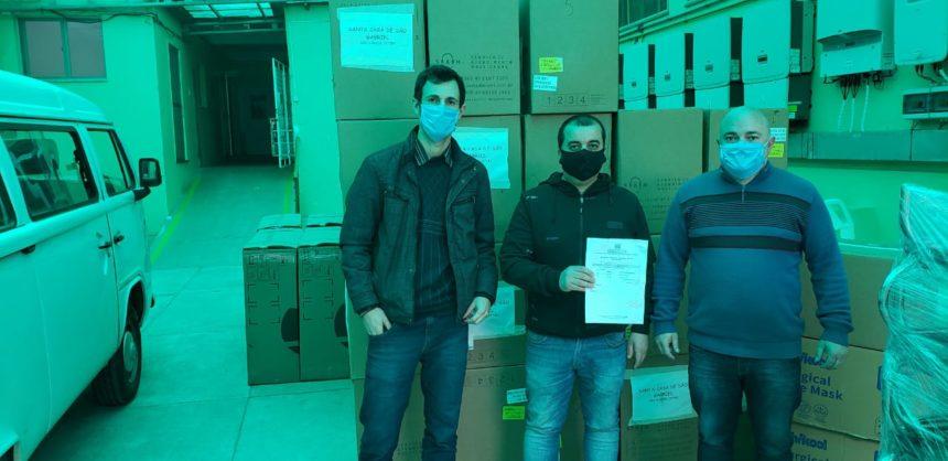 Santa Casa recebe máscaras cirúrgicas, aventais e toucas descartáveis da 10ª Coordenadoria Regional da Saúde (10ª CRS)