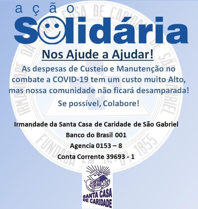 Ação Solidária Santa Casa São Gabriel