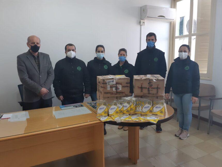 13.333 máscaras são doadas pelo Ministério Público do Trabalho para a Nossa Santa Casa