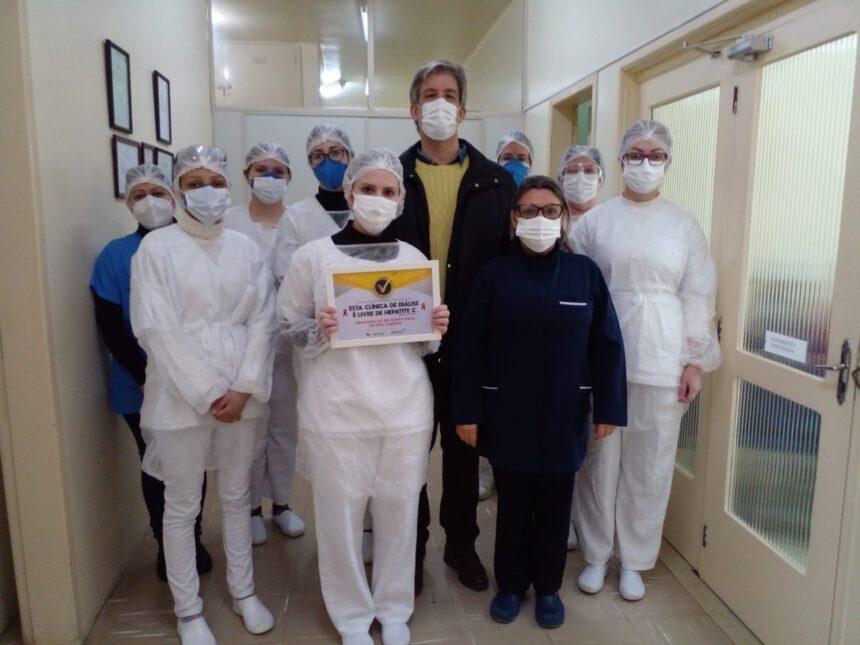 Santa Casa de Sao Gabriel está entre as 9 clínicas livres de Hepatite C